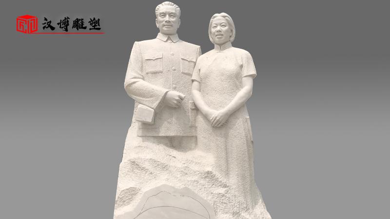 大型人物雕塑_铸铜雕像_雕塑定制_李商隐雕像_人物石雕像