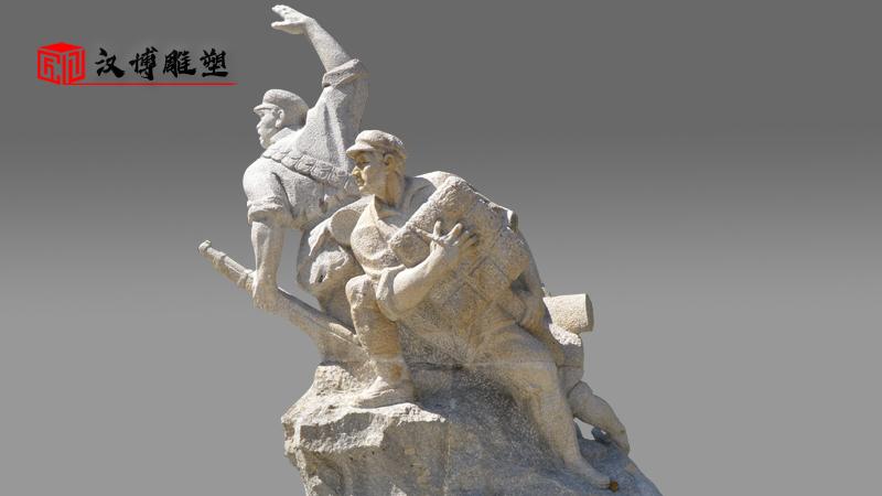军人雕像_景观石雕_人物雕像_大型雕像_雕像订制