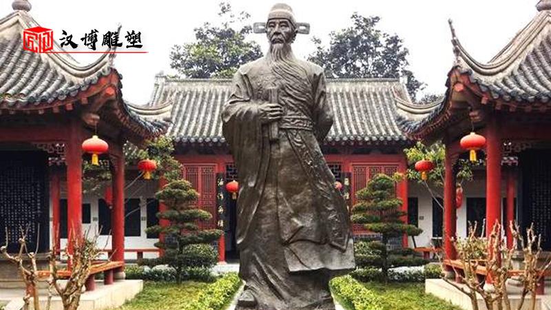 廉政文化雕塑_公园雕塑_人物雕像定制_户外人物铜雕_人物铸铜雕塑