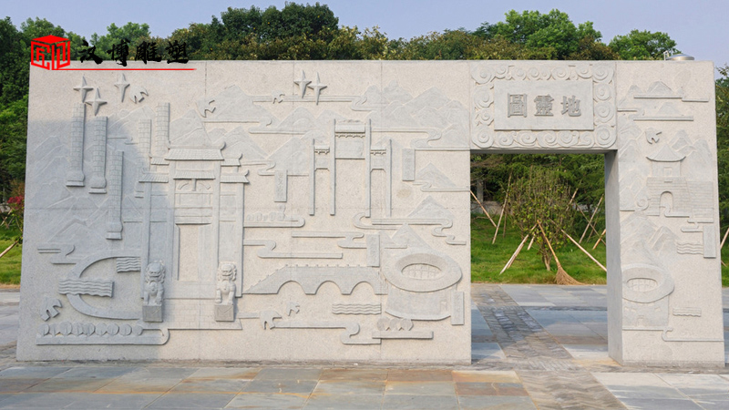 廉政公园雕塑_莲蓬石雕定制_大型石雕_廉政文化雕像_户外雕像制作