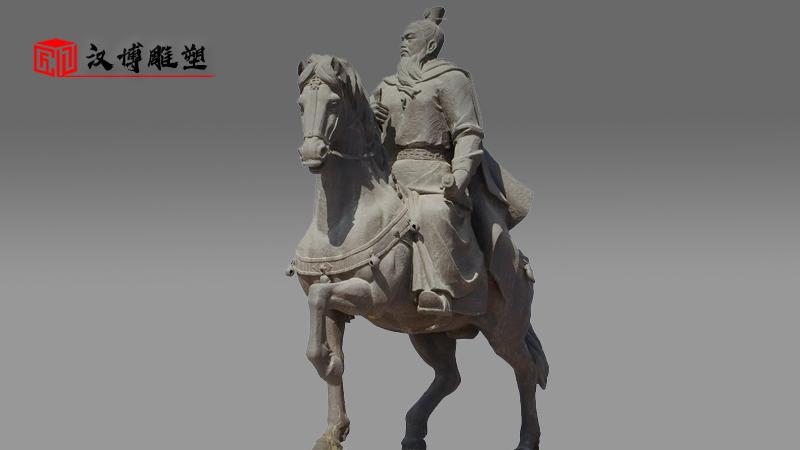 金戈铁马雕像_骑马人物雕塑_铜雕定制_人物铸铜雕塑_大型雕塑厂家