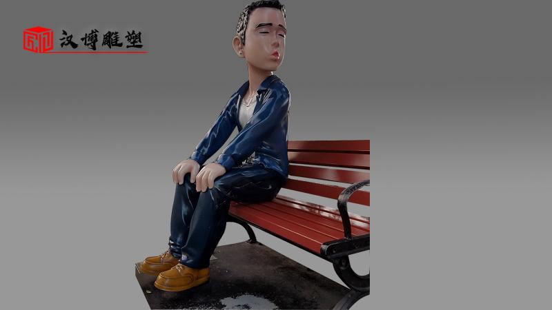 小丑雕塑定制_彩绘雕塑_玻璃钢人物雕塑_商业街雕塑_人物雕塑厂家