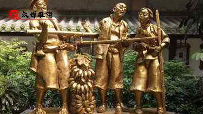 羊羔跪乳雕塑_感恩铸铜雕塑_核心价值观雕塑_大型景观雕塑_孝文化雕塑